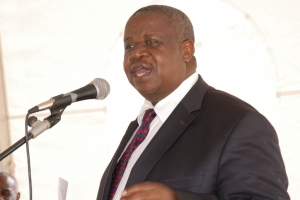 Hon. Maj. Gen (Rtd) Kahinda Otafiire, the Minister of Justice and Constitutional Affairs