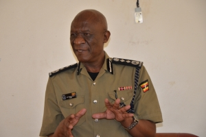 IGP J.M Okoth Ochola (PHOTO: Uganda Police)