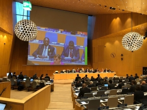 Uganda delegation attending the WIPO Conference  in Geneva.