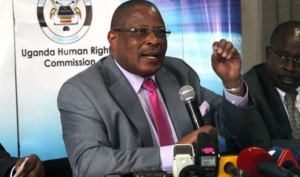 Mr. Med S. Kaggwa, Chairperson Uganda Human Rights Commission