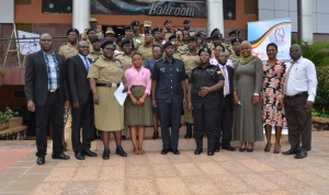 Uganda Police Officials at a recent capacity building event