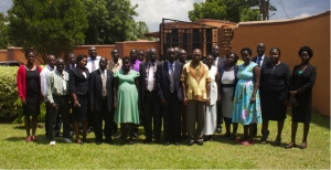 Participants at the DPP-facilitated training in Arua district (PHOTO: Nicola Brasiil)