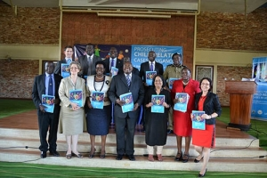 Sector officials and other stakeholders at the launch of the manual (PHOTO: DPP)