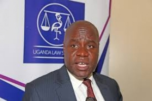 Mr. Simon Peter Kinobe, the current ULS President