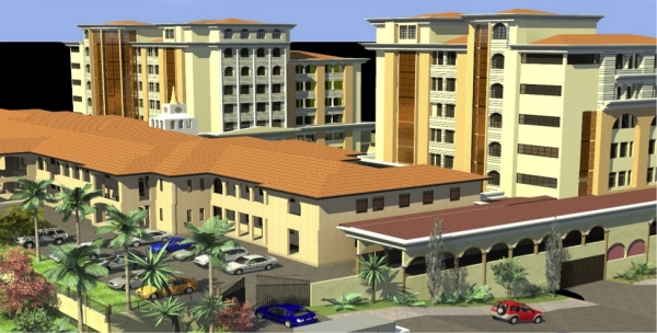 An artistic impression of the proposed Appellate Courts - part of the JLOS House Complex (Source: JLOS)